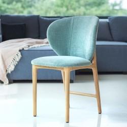 HOYA tapicerowane krzesło w skandynawskim stylu, polski design