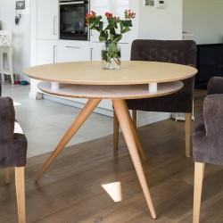 TRIAD okrągły stół do jadalni w skandynawskim stylu