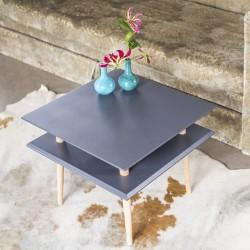 SQUARE średni stolik kawowy w stylu vintage polski design