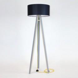 WANDA szara lampa w skandynawskim stylu