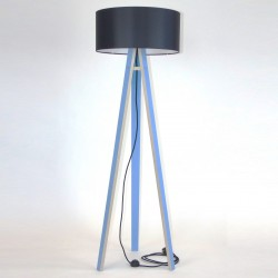 WANDA niebieska lampa w skandynawskim stylu
