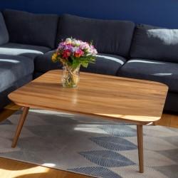CONTRAST TETRA stolik kawowy w stylu vintage polski design