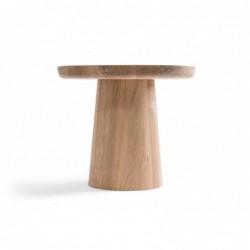 CHEVAL stolik z litego drewna dębowego polski design