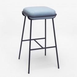 UFI HOKER oryginalne tapicerowane krzesło barowe
