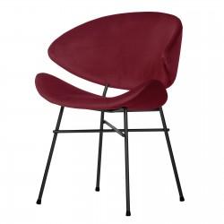 CHERI VELOURS STANDARD designerskie krzesło welurowe