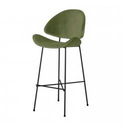 CHERI BAR VELOURS STANDARD welurowe krzesło barowe, polski design
