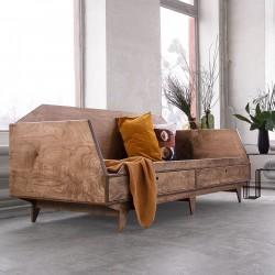 NORSK.BED siedzisko, sofa, łóżko ze sklejki w skandynawskim stylu