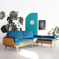 NORSK.CORNER sofa narożna ze sklejki w skandynawskim stylu