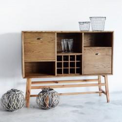 MUKO barek z litego drewna polski design