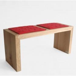 CLASSIC ławka z litego drewna, polski design