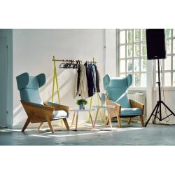 LIU duży fotel uszak, polski design