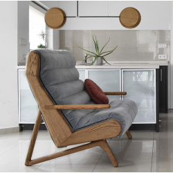 CAMELEON designerska pikowana sofa, polski design