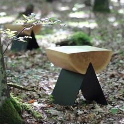STOŁEK 1/2 oryginalny stołek w loftowym stylu