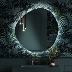 LAPIS lustro podświetlane LED o nieregularnym, obłym kształcie