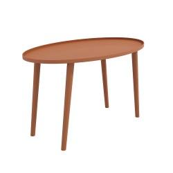 ELLI nowoczesny stolik kawowy w stylu industrialnym, polski design