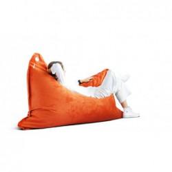 LULA VELVET wygodna pufa fotel polski design