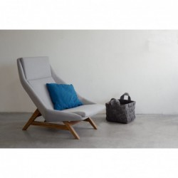 MITO duży fotel w stylu vintage polski design