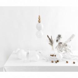 LOFT BALA BIAŁA lampa wisząca styl loftowy