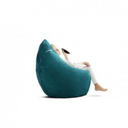 KOKO VELVET wygodna pufa fotel polski design