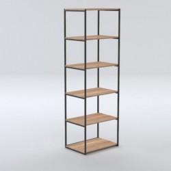 OSLO SLOTT minimalistyczny regał w skandynawskim stylu