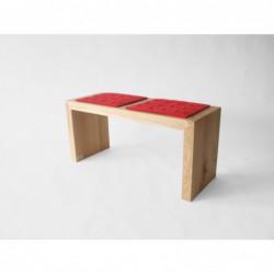 CLASSIC ławka z litego drewna polski design