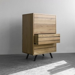 OSLO GLOMMA komoda drewniana w skandynawskim stylu