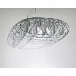 W POWIETRZU ażurowa lampa wisząca, polski design