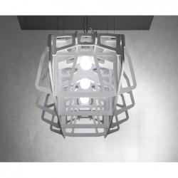 POMIĘDZY BRZEGAMI ażurowa lampa wisząca, polski design