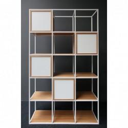 BOXER minimalistyczny regał stalowy w stylu loftowym