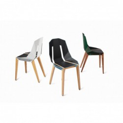DIAGO ECO-SKÓRA oryginalne krzesło polski design