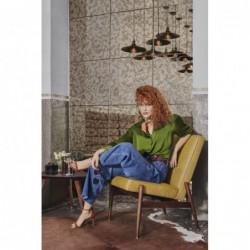 FOX KLUBOWY fotel retro, styl skandynawski, polski design