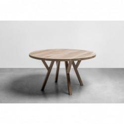 GLORIA okrągły stół z litego drewna dębowego