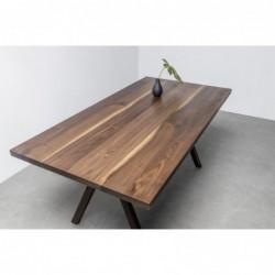 VICTORIA stół z litego drewna orzechowego polski design