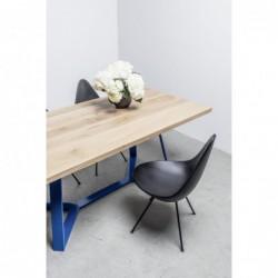 STÓŁ Y stół z drewnianym blatem w stylu loftowym