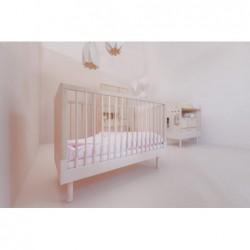 RIVER łóżeczko dziecięce 70x140 w skandynawskim stylu