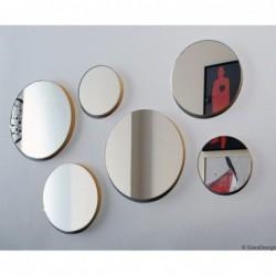 TRIO zestaw 3 okrągłych luster polski design