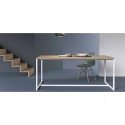 DENVER ROZKŁADANY minimalistyczny stół styl industrialny