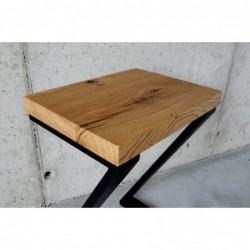 HOKER Z stołek wysoki styl lofotowy
