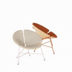 GINKA fotel w stylu vintage