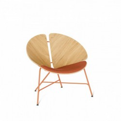GINKA 1/3 TAPICEROWANA fotel w stylu vintage