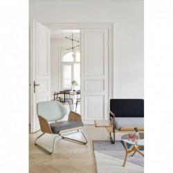 PANKA LO fotel w stylu vintage, polski design