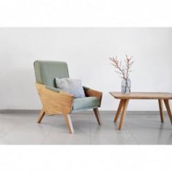 ENI fotel z litego drewna polski design