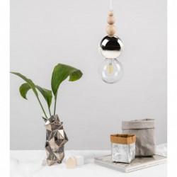LOFT BALA 3 CHROM lampa wisząca styl loftowy