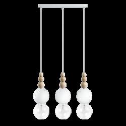 LOFT BALA 3L BIAŁA lampa wisząca styl loftowy
