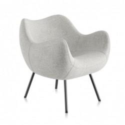RM58 SOFT SYNERGY fotel tapicerowany proj. Romana Modzelewskiego polski design