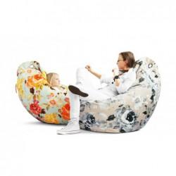 JAJO FLOWERPOWER wygodna pufa fotel polski design