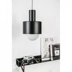 ENKEL 1 CZARNA lampa sufitowa wisząca styl loftowy