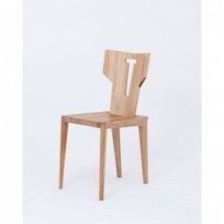 PEGAZ krzesło z litego drewna dębowego polski design