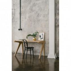 RUSH biurko z litego drewna dębowego polski design