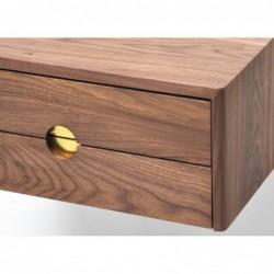 MID CENTURY 5 wisząca szafka nocna z szufladami